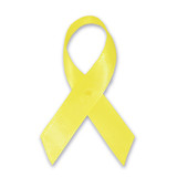 Cloth Awareness Ribbon - 25 Pack - Yellow