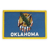 Patch - Oklahoma State Flag
