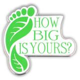 ECO Footprint Pin - BOGO