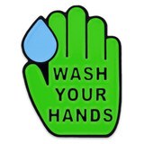 Wash Your  Hands Lapel Pin