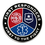 First Responders First To Fight Lapel Pin