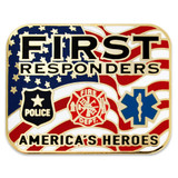 First Responders Heroes Lapel Pin