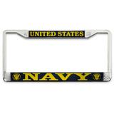 Officially Licensed U.S. Navy Plate Frame