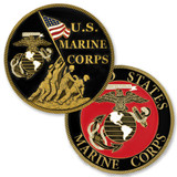Officially Licensed U.S. Marine Corps Coin