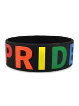 PRIDE Rubber Bracelet 1 Inch Wide