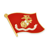 Officially Licensed U.S. Marine Corps Flag Pin