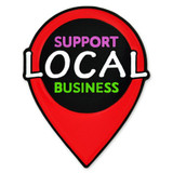 Support Local Business Lapel Pin