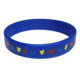 Youth Autism Awareness Rubber Bracelet