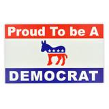Proud To Be A Democrat Sticker