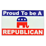 Proud To Be A Republican Sticker
