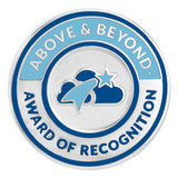 Above & Beyond Recognition Lapel Pin