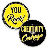 Creativity Takes Courage Coin