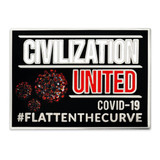 Civilization United Lapel Pin