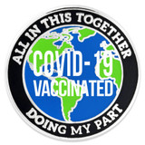 Doing My Part COVID-19 Vaccinated Pin