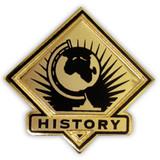 School Pin - History
