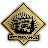 School Pin - Attendance