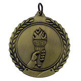 Olympic Torch Medal - Engravable