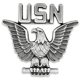 Officially Licensed U.S.N. Eagle Pin