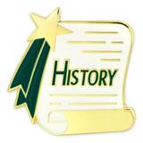 History Scroll Pin