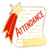 Attendance Scroll Pin