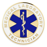 Medical Lab Technician Pin