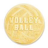 Volleyball Chenille Lapel Pin