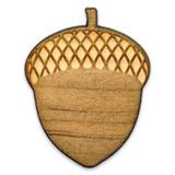 Acorn Wood Pin