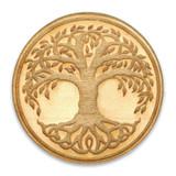 Tree Of Life Wood Pin