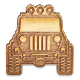 Extreme Adventure Off-Road Vehicle Wood Pin
