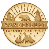 Explore The Wild Wood Pin