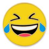 Crying Laughing Emoji Pin