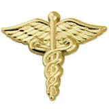 Caduceus Pin - Gold