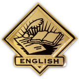 School Pin - English