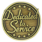 Dedicated to Service Pin