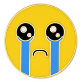 Crying Emoji Pin