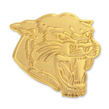Cougars Mascot Chenille Lapel Pin