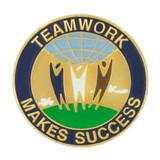 Teamwork Makes Success Pin