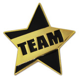 Teamwork  - Team Star Pin