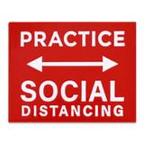 Practice Social Distancing Lapel Pin