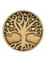 Tree of Life Pin Gold