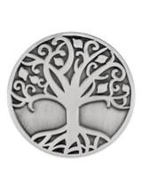 Tree of Life Pin Silver