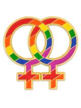 Double Venus Symbol Pin