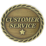 Customer Service Star Pin