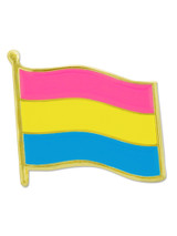 Pansexual Pride Flag Pin