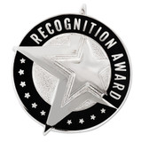 Recognition Award Star Pin Silver