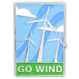 ECO Pin - Go Wind
