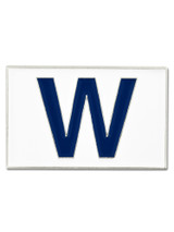 Chicago Cubs W Flag Pin