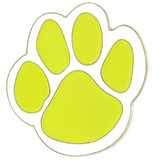 Paw Pin - Yellow and White