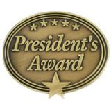 President's Award Pin