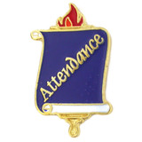 School Pin Scroll - Attendance